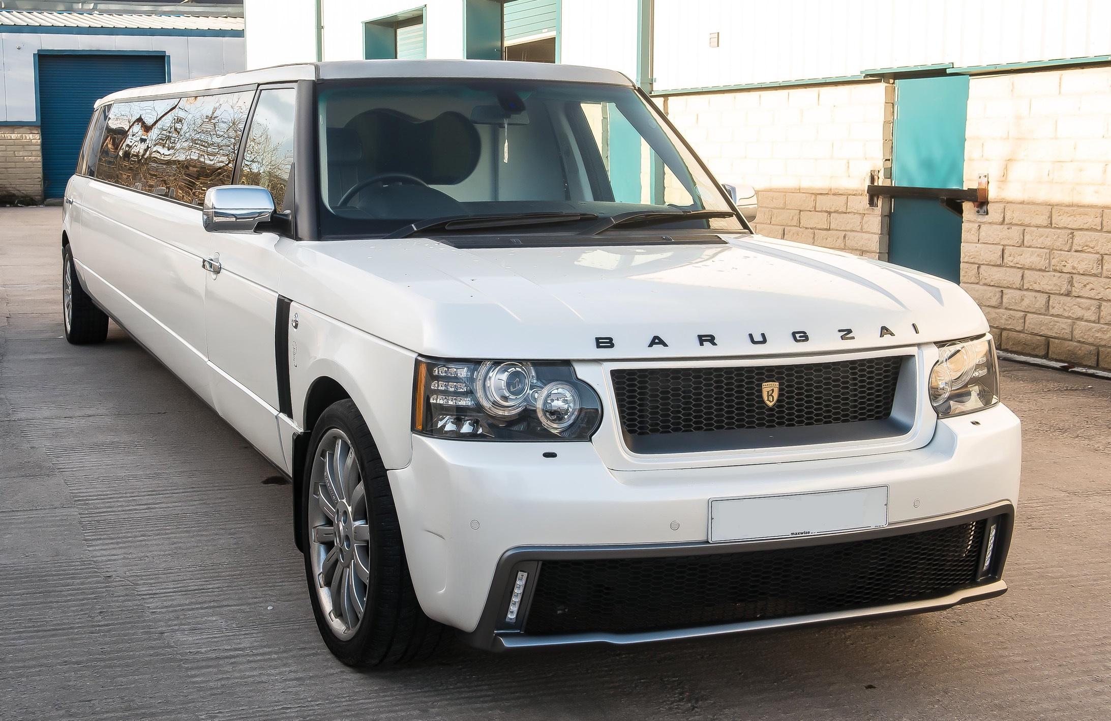 Range Rover Limo Hire
